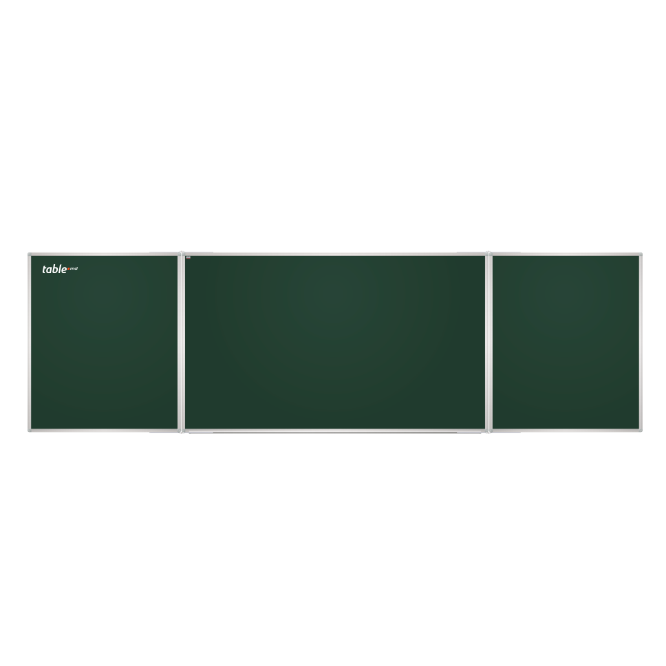 Tabla scolara triptica verde