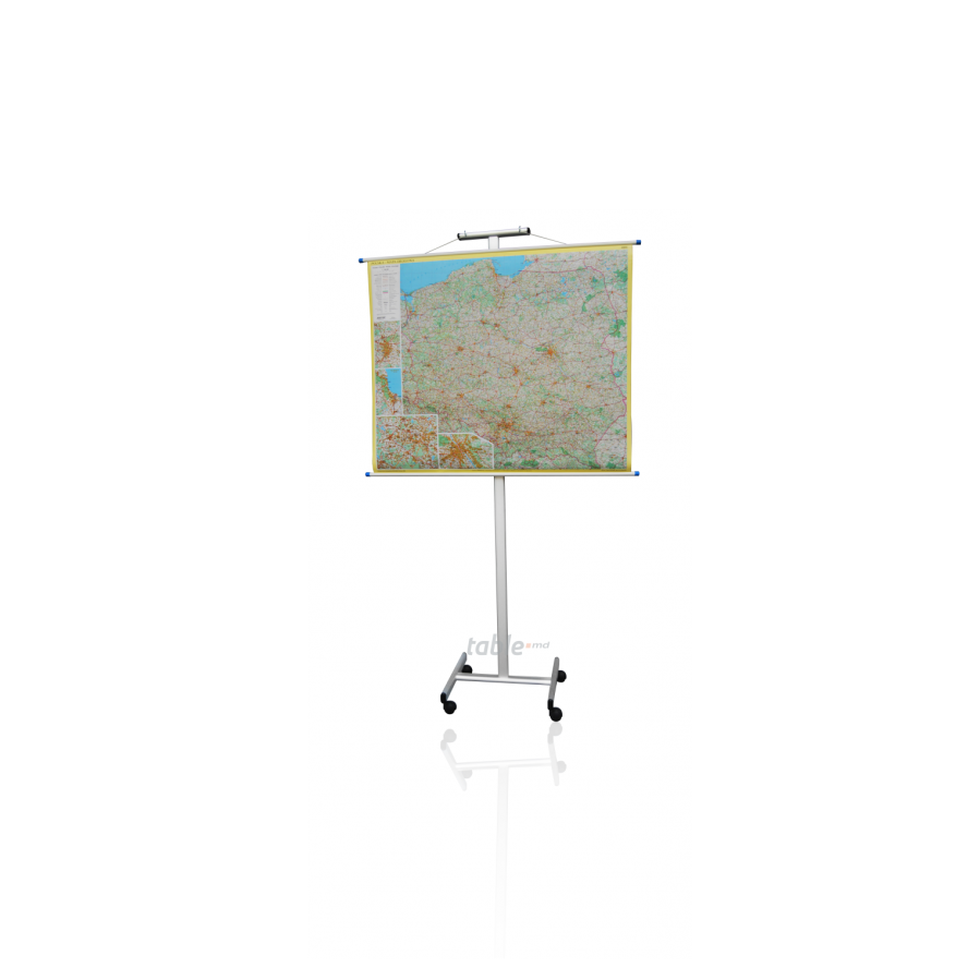 Suport mobil pentru harti OVAL