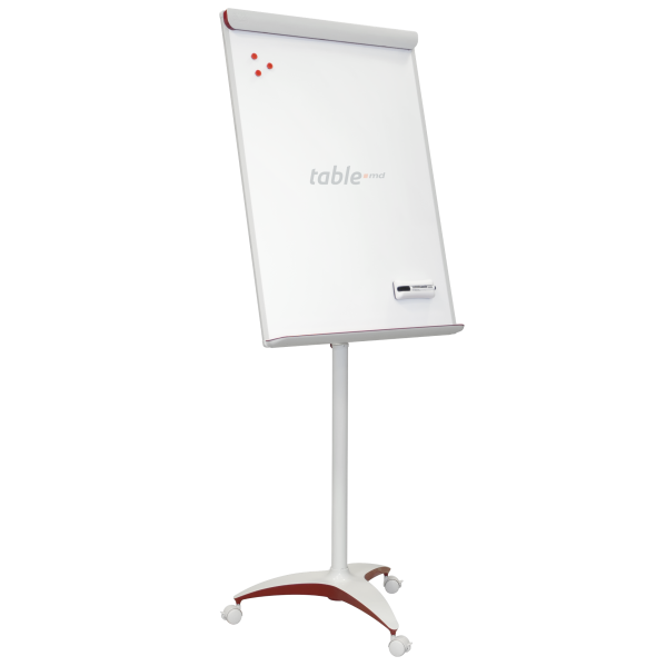 Tabla flipchart office pro rosu mobila