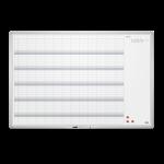 Tabla planning anual magnetica