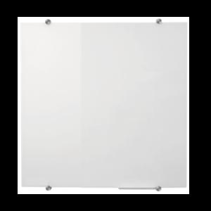 Tabla din sticla alba 100x100 cm