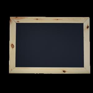 Черная меловая доска 110x60 см