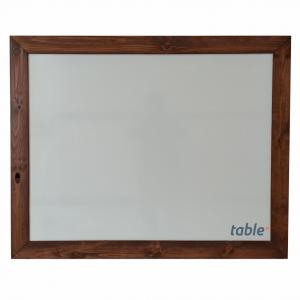 Tabla magnetica alba 100x80 rama lemn